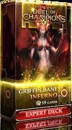 Griffin Bane: Inferno expert deck