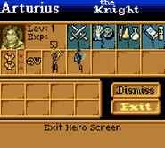 Heroes Game Boy hero statistics