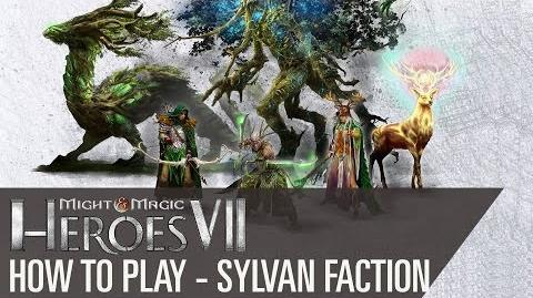 Might & Magic Heroes VII - How to play the Sylvan Faction