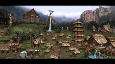 Heroes of Might & Magic III Rampart Town Theme (1998 NWC) Animated