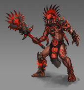 Storm Caller male artwork Heroes VI