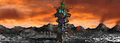 Tower of Darkness level 4 Necropolis Heroes IV
