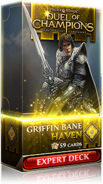 Griffin Bane: Haven expert deck