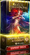 Griffin Bane: Academy expert deck