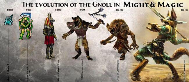 Gnolls - M&M