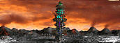 Tower of Darkness level 5 Necropolis Heroes IV