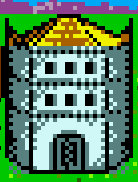 Mage guild level 3 Castle Heroes II Game Boy