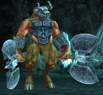 Minotaur taskmaster