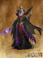 Sorcerer H7 female artwork