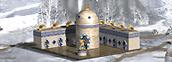 Golden pavilion Academy Heroes IV