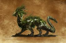 Zielony Smok (H7) concept art