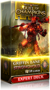 Griffin Bane: Stronghold expert deck