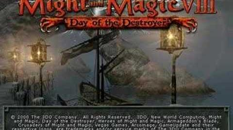 Might and Magic VIII Day of the Destroyer Intro