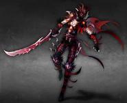 Shadow Slayer female artwork Heroes VI