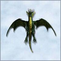 Green dragon - MM VII