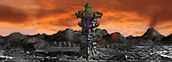 Tower of Darkness level 3 Necropolis Heroes IV