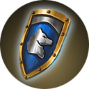 White Wolf Shield Heroes VII