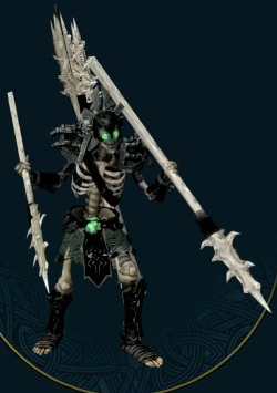 Skeletal Spearman