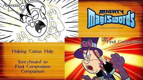 Behind the Magiswords Season 2! Helping Cattus Help!