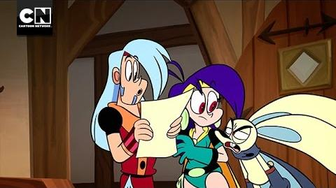 Loch Mess Mighty Magiswords Cartoon Network