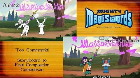 Behind the Magiswords Season 2! Too Commercial