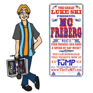 Luke ski mc freberg promo art