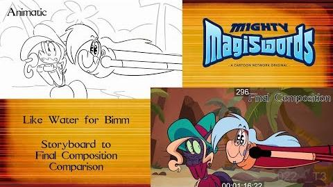 Behind the Magiswords Season 2! Like Water for Bimm