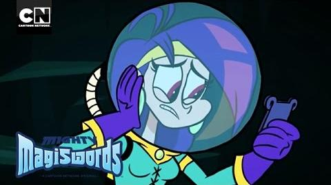 Mighty Magiswords The Warriors' Undersea Misson! Cartoon Network