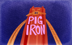 Mighty magiswords 202 pig iron title card by tvskyle-d8silgt
