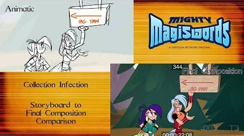 Behind the Magiswords Season 2! Collection Infection!