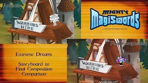 Behind the Magiswords Season 2! Extreme Dreams