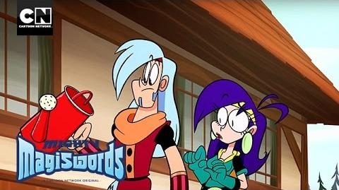 Mighty Magiswords Prohyas Grows a New Magisword! Cartoon Network