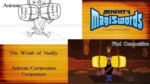 Behind the Magiswords The Wrath of Neddy
