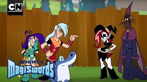 Mighty Magiswords Witch Way VS the Warriors Cartoon Network