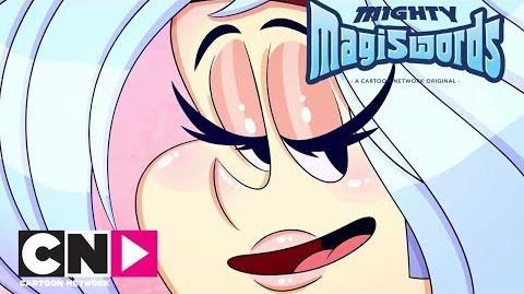 Mighty Magiswords Sassy VS Salad Cartoon Network Africa