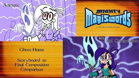 Behind the Magiswords Season 2! Ghost-Haste