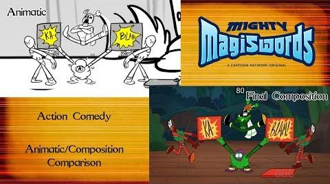 Behind the Magiswords Action Comedy