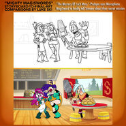 Mighty magiswords storyboards secret mission by artbylukeski-dbxbczs