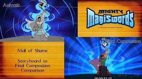 Behind the Magiswords Season 2! Mall of Shame!