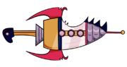 Rad Rocket Magisword