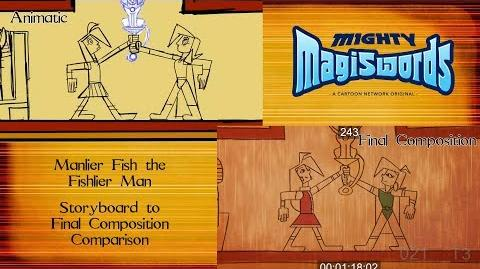 Behind the Magiswords Season 2! Manlier Fish the Fishlier Man