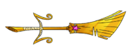 Golden Broomstick Magisword