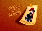Random Acts of Memory