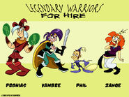 Legendary Warriors for Hire by tvskyle