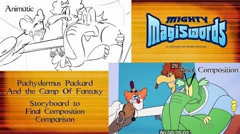 Behind the Magiswords Season 2! Pachydermus Packard And the Camp of Fantasy