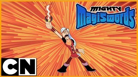 Mighty Magiswords Mystery of Loch Mess Cartoon Network