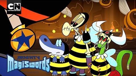 Mighty Magiswords Neddy The Mallet Cartoon Network