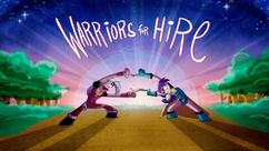 Warriors for Hire Title CardHD
