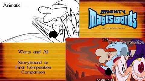 Behind the Magiswords Season 2! Warts and all