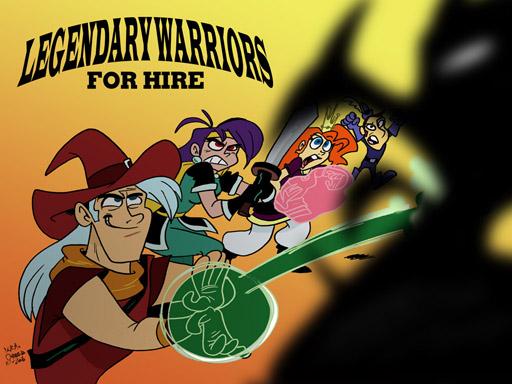 image legendary warriors vs dragon jpg mighty magiswords wiki